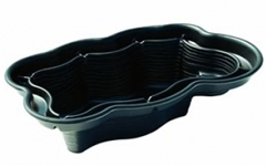 Large preformed garden ponds garden ftempo for Rigid pond liner