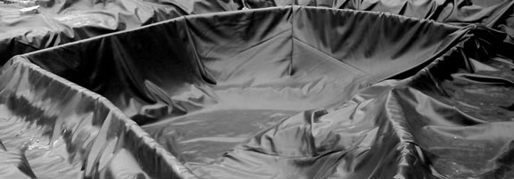 Rubber pond liners butyl and epdm compared everything for Rubber pond liner