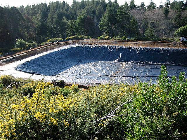 Lake liners for Farm pond pumps