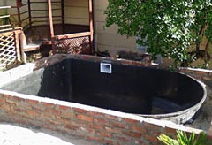 Precast fiberglass pond liners everything for Koi pond insert